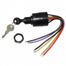 Llave de Encendido con Tambor con 6 Cables Mercury